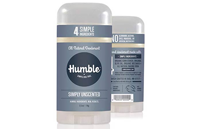 Humble Unscented Deodorant