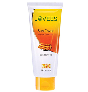 Jovees Sandalwood Suncover Natural Protection SPF 30