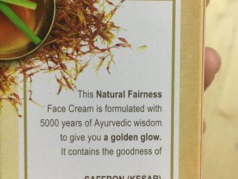 Lever Ayush Natural Fairness Saffron Face Cream pic 4-Nothing surprising-By Vaishali_Chellapa