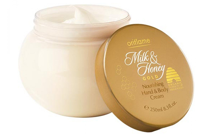 Oriflame Milk And Honey Gold Nourishing Hand And Body Cream