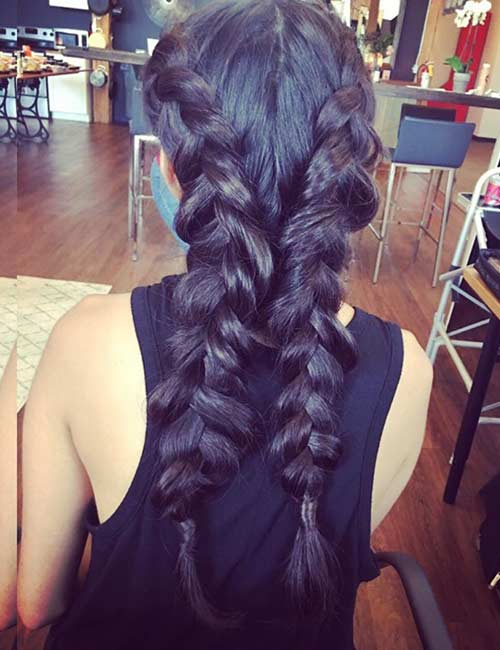 Pancake Dutch Braid - Dutch Braid