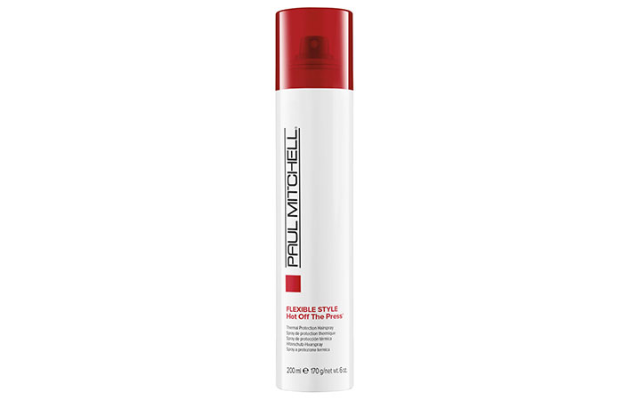 Paul Mitchell Flexible Hot Off The Press Thermal Protection Hairspray