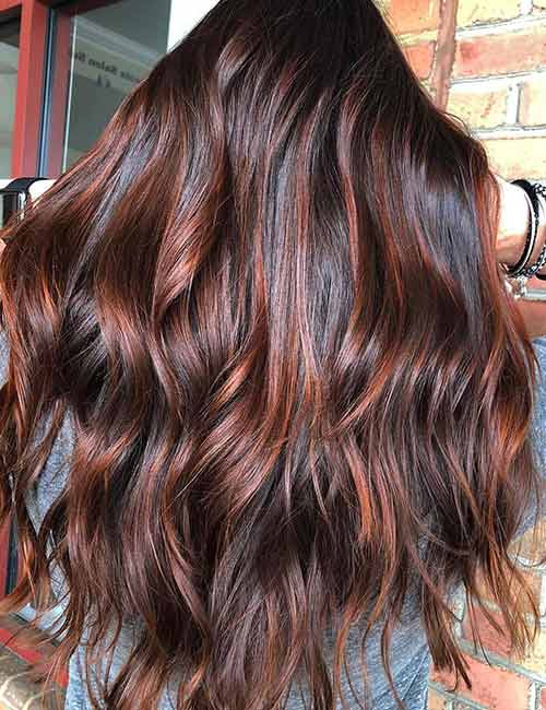 Red And Brown Hair