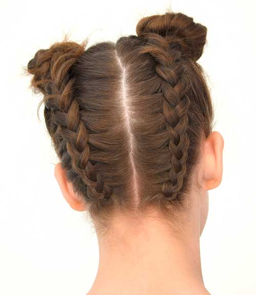Reverse Double Dutch Knots - Dutch Braid