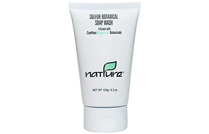 Sulfur Botanical Face Wash