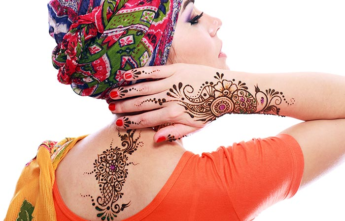 Tattoo Mehndi Design in Hindi