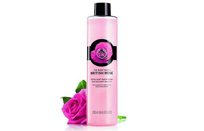 The Body Shop British Rose Foam