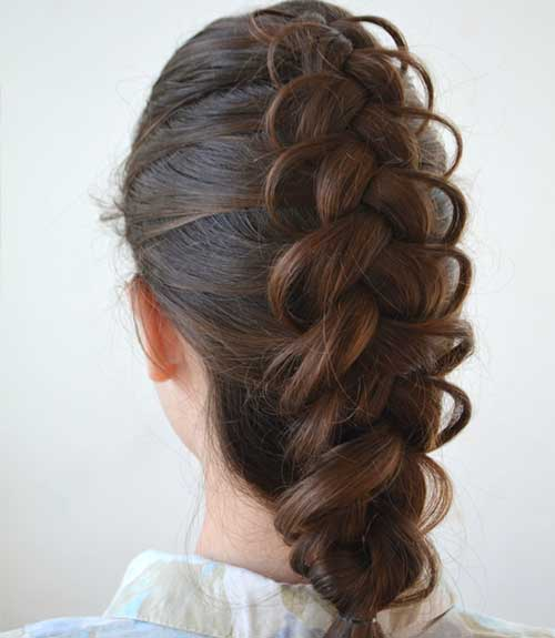 The Fancy Dutch Braid - Dutch Braid