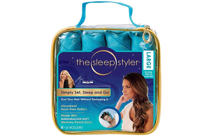 The Sleep Styler Large Hair Rollers