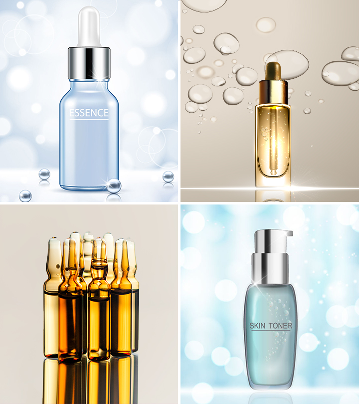Toner vs. Essence vs. Serum vs. Ampoule: What's The Difference?