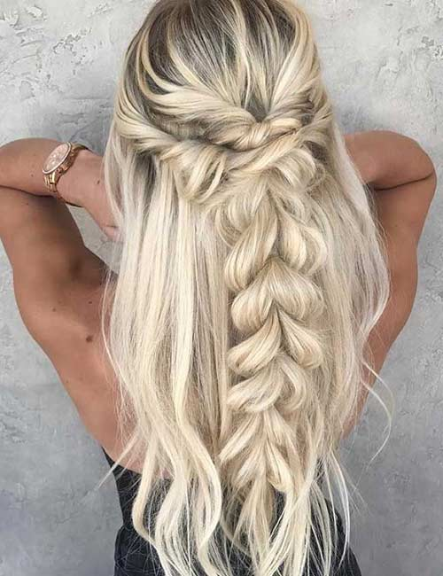 Two Twist Dutch Braid - Dutch Braid