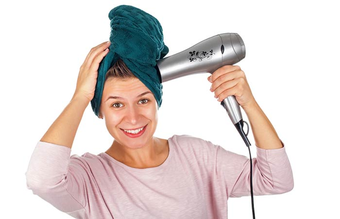 Use A Ionic Hair Dryer