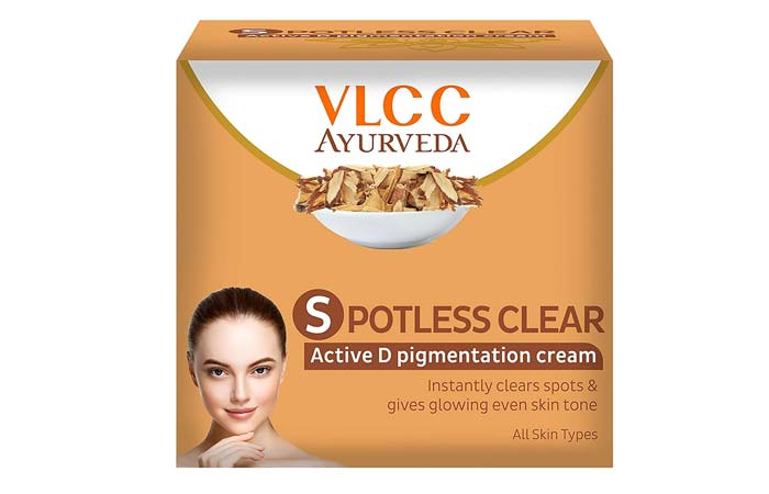 VLCC Ayurveda Spotless Clear Active D Pigmentation Cream
