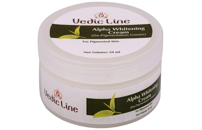 Vedic Line Alpha Whitening De-Pigmentation Cream
