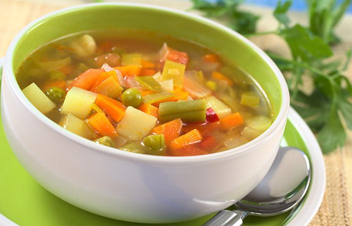 वज़न घटाने के लिए Vegetable soup