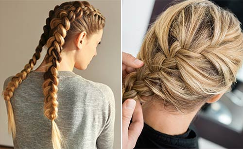 Difference Between A Dutch Braid And A French Braid - Dutch Braid