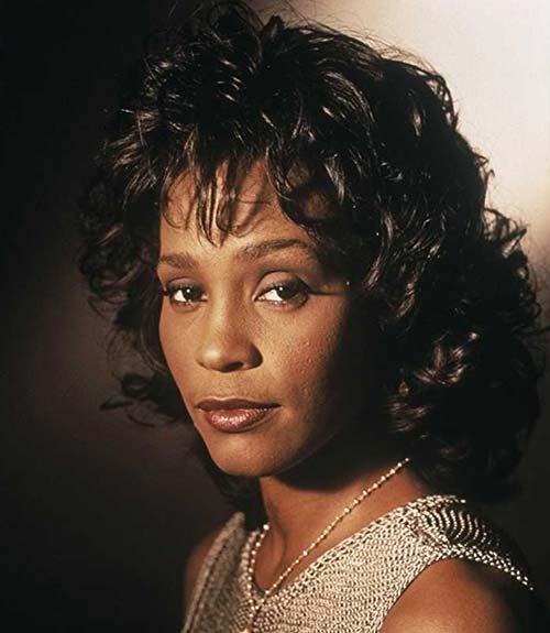 Whitney Houston Hair