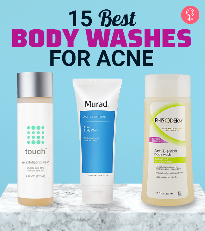 15 Best Body Washes For Acne – Our Top Picks for 2020