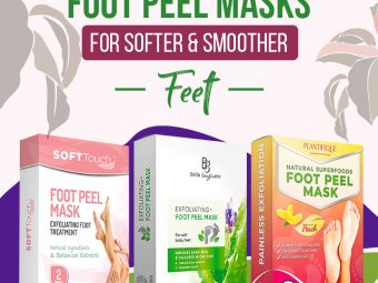 15 Best Foot Peel Masks For Softer And Smoother Feet