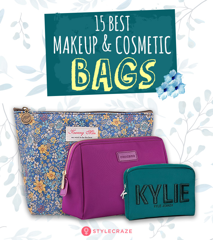15 Best Makeup And Cosmetic Bags