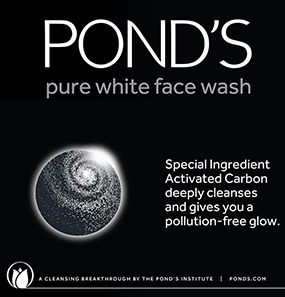 Ponds Pure White Anti Pollution + Purity Face Wash