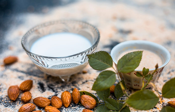Almond And Milk Face Pack in Hindi