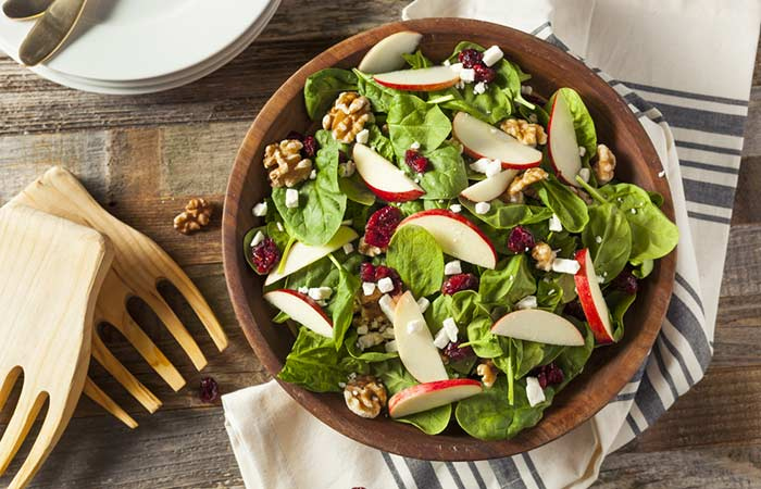 Apple Walnut Tofu Salad