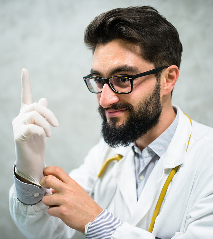 Beard Transplant Using DHI Technique