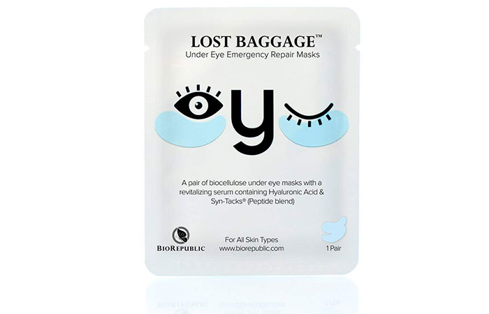 BioRepublic Lost Baggage Under Eye Emergency Repair Masks