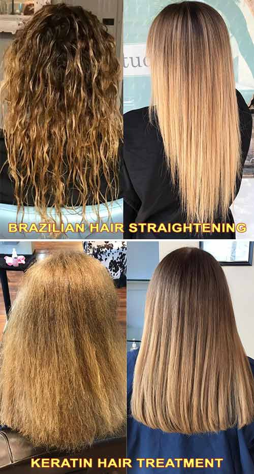 Brazilian Hair Straightening Vs. Keratin Treatment