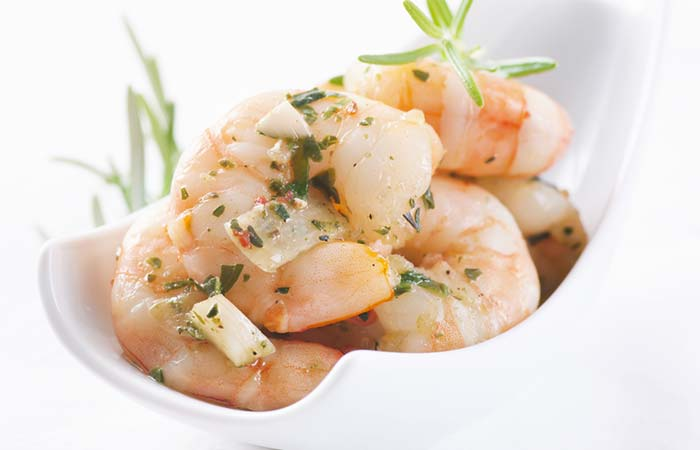 Butter-tossed Garlic Shrimp