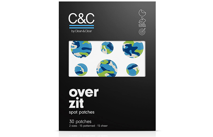 C&C Over Zit Spot Patches
