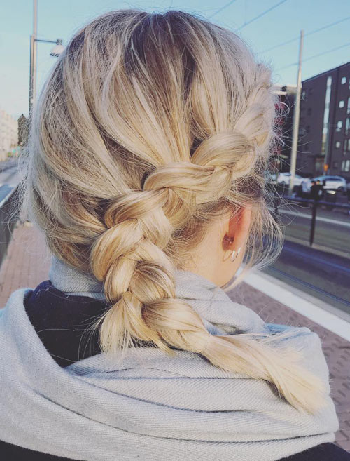 Cascading Side Braid - Side Braid