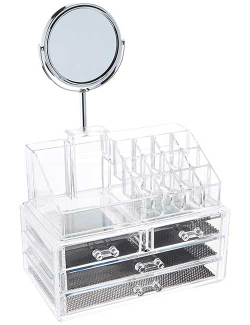 ClosetMate Luxury Organizer With Mirror