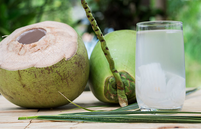 Coconut Water for Fair skin in hindi