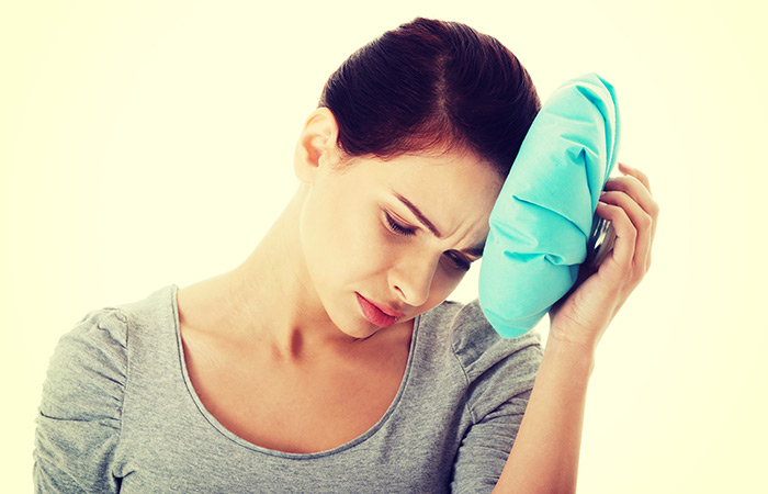 Cold or warm Compress for Headache in Hindi