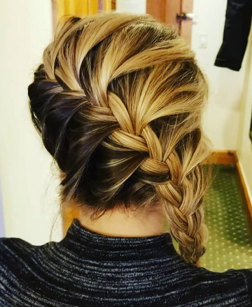Color Flaunt Side Braid - Side Braid