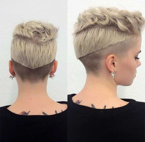 Dark Rooted Undercut