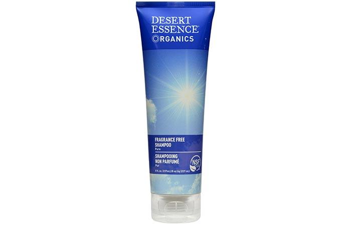 Desert Essence Organics Fragrance-Free Shampoo