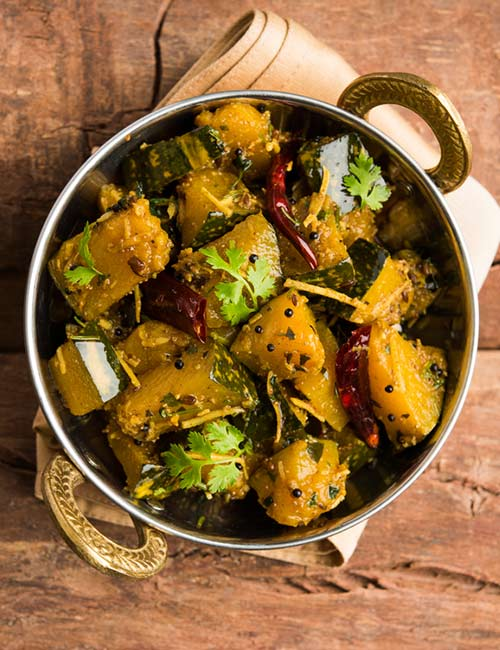 Dry Pumpkin Curry