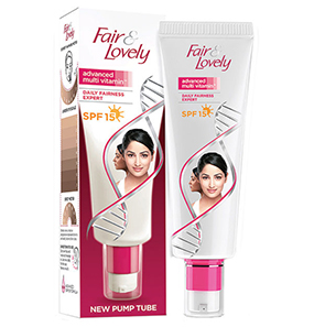 Fair & Lovely Multi Vitamin Cream Pump Tube SPF 15