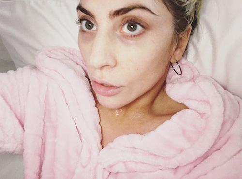 Gaga's Superbowl Selfie