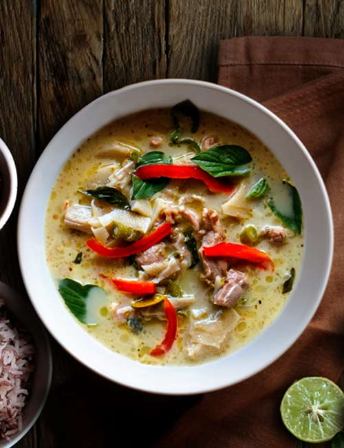 Green Chicken Thai Curry