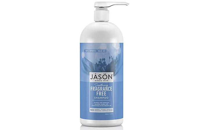 Jason Soothing Fragrance-Free Shampoo