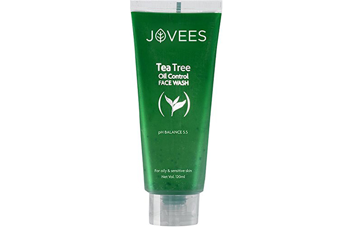 Jovis Tea Tree Oil Control Face Wash in Hindi