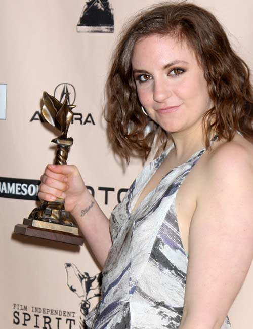 Lena Dunham – Who Run The World Girls!