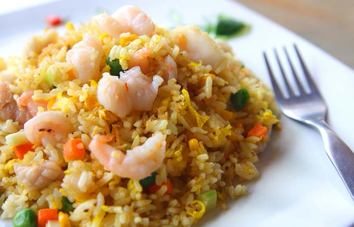 Loaded Shrimp Fried Rice