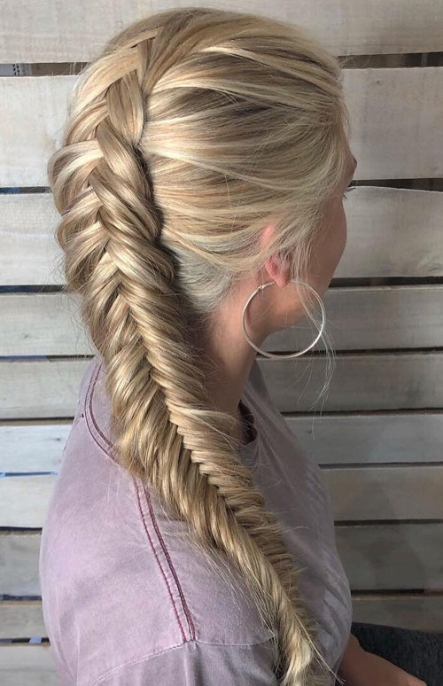 Loose To Tight Side Braid - Side Braid