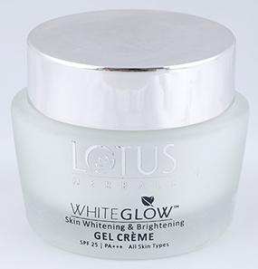 Lotus Herbals Whiteglow Skin Whitening & Brightening Gel Creme SPF 25 PA+++