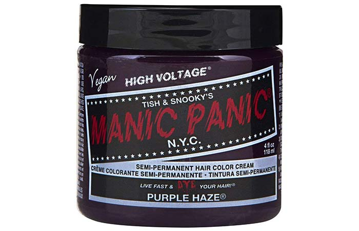 Manic Panic Semi-Permanent Hair Color Cream – Purple Haze